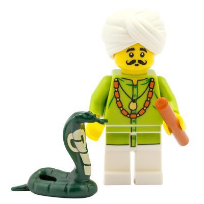 71008 - Lego Serie 13 - Minifigur Nr. 4 Schlangenbeschwörer