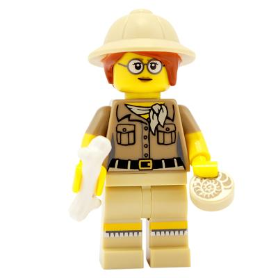 71008 - Lego Serie 13 - Minifigur Nr. 6 Paläontologin