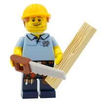 71008 - Lego Serie 13 - Minifigur Nr. 9 Zimmermann