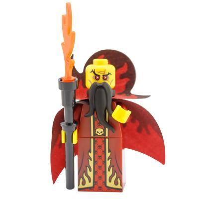 71008 - Lego Serie 13 - Minifigur Nr. 10 Böser Hexenmeister