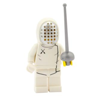 71008 - Lego Serie 13 - Minifigur Nr. 11 Fechter