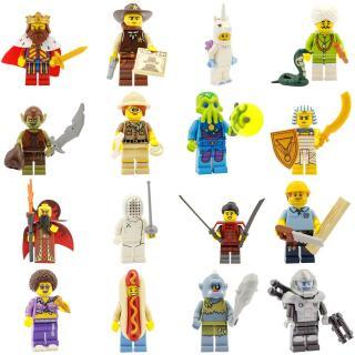 71008 - Lego Serie 13 - Komplettsatz 16 Minifiguren