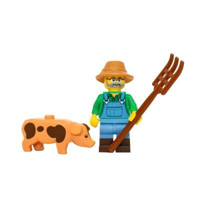 71011 - Lego Serie 15 Minifigur Nr. 1 Bauer