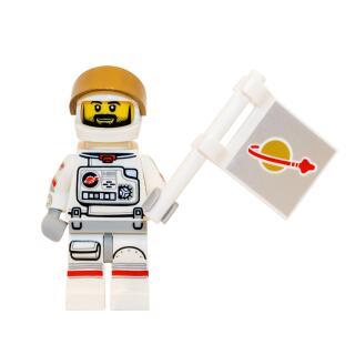 71011 - Lego Serie 15 Minifigur Nr. 2 Astronaut