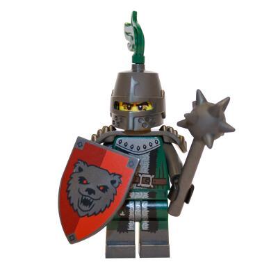 71011 - Lego Serie 15 Minifigur Nr. 3 Finsterer Ritter