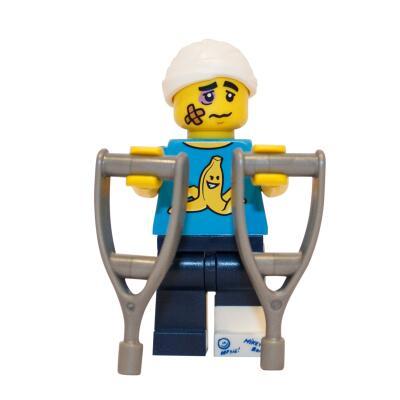 71011 - Lego Serie 15 Minifigur Nr. 4 Tollpatsch