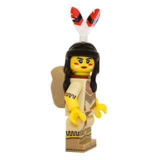 71011 - Lego Serie 15 Minifigur Nr. 5 Indianerin