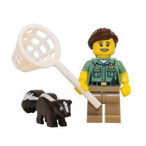 71011 - Lego Serie 15 Minifigur Nr. 8 Kammerjägerin