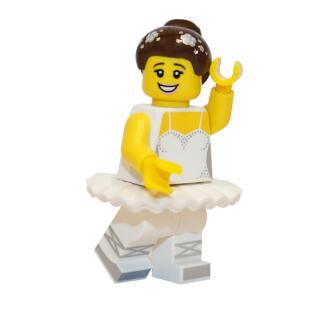 71011 - Lego Serie 15 Minifigur Nr. 10 Ballerina