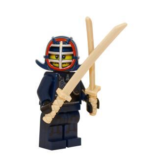 71011 - Lego Serie 15 Minifigur Nr. 12 Kendo-Kämpfer