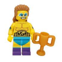 71011 - Lego Serie 15 Minifigur Nr. 14 Wrestling Champion