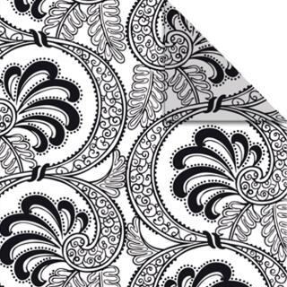 Ursus Aurelio Stern Set Faltblätter 14,8 x 14,8 cm - Black & White Fächer schwarz Transparentpapier (34335500)