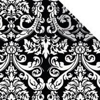 Ursus Aurelio Stern Set Faltblätter 14,8 x 14,8 cm - Black & White Wappen schwarz Transparentpapier (34345500)