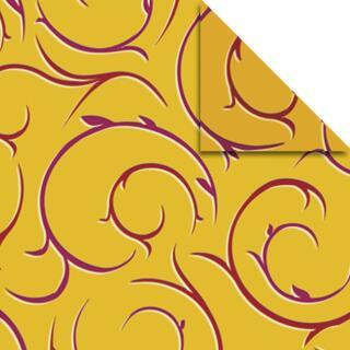 "Ursus Aurelio Stern Set Faltblätter 14,8 x 14,8 cm - ""Barock"" gold Transparentpapier"