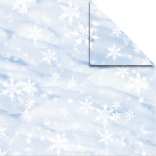 """Ursus Aurelio Stern Set Faltblätter 14,8 x 14,8 cm - """"Schnee""""  Transparentpapier"""