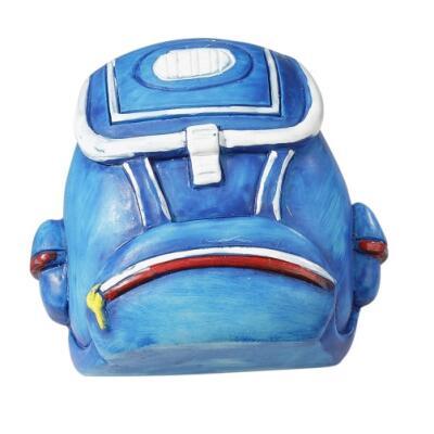 Einschulung - Rucksack blau 4 cm
