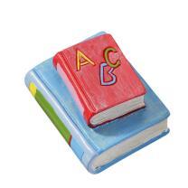 Einschulung - Bücher rot / hellblau 4 cm
