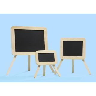 Einschulung - Schultafel groß 15 x 11,5 x 19 cm