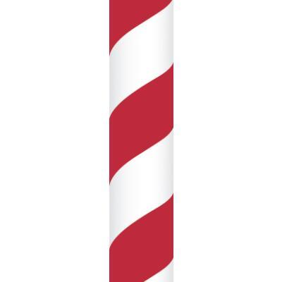 Ursus Papierstrohhalme Trinkhalme Streifen rot (03)