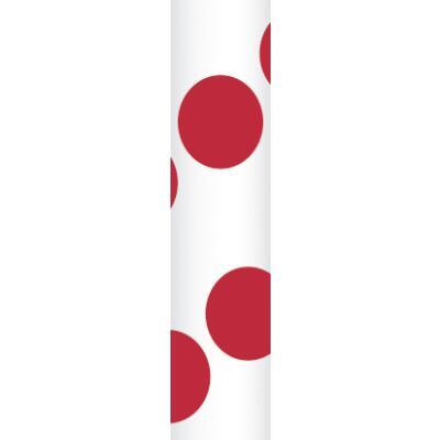 Ursus Papierstrohhalme Trinkhalme Punkte rot (25)