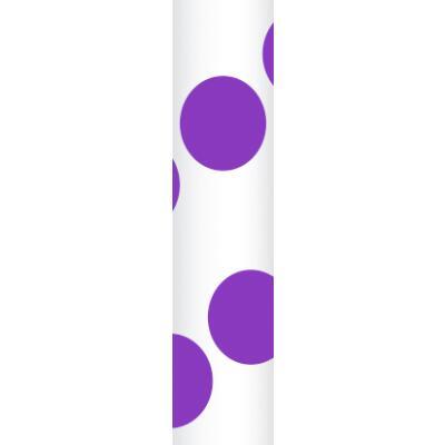Ursus Papierstrohhalme Trinkhalme Punkte lila (33)