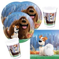 36- teiliges Party-Set - Secret Life of Pets - Teller...