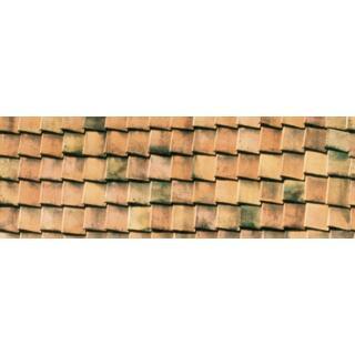 Motiv-Fotokarton Dachziegel (15), 300 g/m²,  49,5cm x 68cm