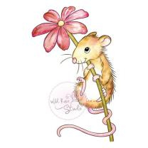 Wild Rose Studio CL494 Stempel clear stamp Mouse and...