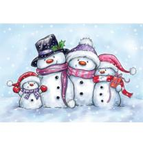 Wild Rose Studio CL461 Stempel clear stamp Snowmen -...