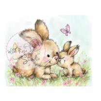 Wild Rose Studio CL451 Stempel clear stamp Spring Bunnies...