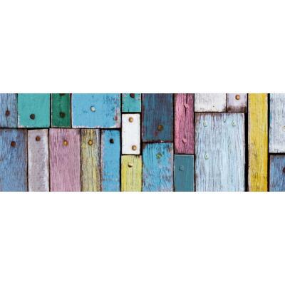 Motiv-Fotokarton Holz bunt (60), 300 g/m²,  49,5cm x 68cm
