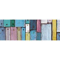 Motiv-Fotokarton Holz bunt (60), 300 g/m²,  49,5cm x...