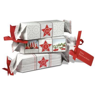 """Ursus Adventskalender - Set Geschenkboxen """"Rustic"""""""