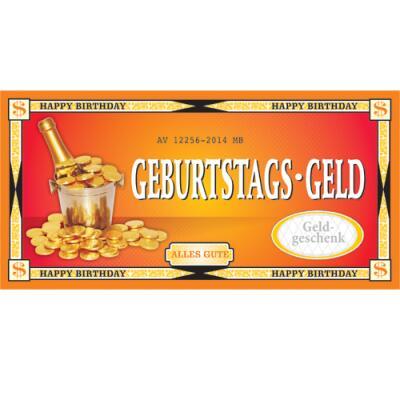 XXL - Gutschein - Kuvert - Geburtstagsgeld