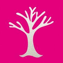 Efco Motivlocher - Stanzer - Herbstbaum M ~ 2,4 x 2,2 cm