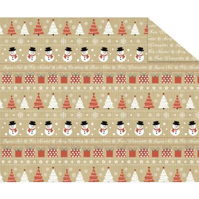 Fotokarton Christmas Time (Motiv 03), 300 g/m²,  49,5cm x 68cm