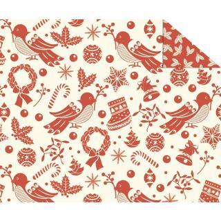 """Fotokarton Weihnachten """"Nostalgie"""" (Motiv 01), 300 g/m²,  49,5cm x 68cm"""