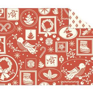 """Fotokarton Weihnachten """"Nostalgie"""" (Motiv 03), 300 g/m²,  49,5cm x 68cm"""