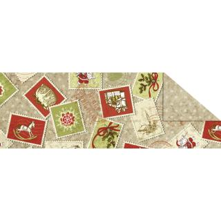 """Fotokarton  """"Vintage Weihnachten"""" (Motiv 02), 300 g/m²,  49,5cm x 68cm"""