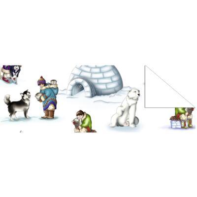 "Fotokarton  ""Winter Wonderland"" (06) Arktis, 300 g/m²,  49,5cm x 68cm"