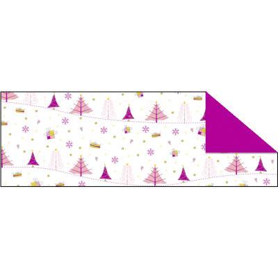 "Fotokarton  ""Magic Christmas"" (05) pink, 300 g/m²,  49,5cm x 68cm"