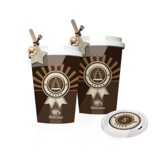 Adventskalender Coffee-to-Go zum Selbstbefüllen