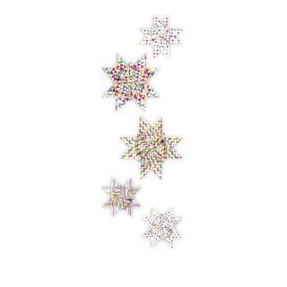 Ursus Faltstreifen Fröbelsterne (3475) mehrfarbig 60 Streifen für 15 Sterne
