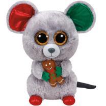 Ty Beanie Boos Weihnachtsmaus Mac Weihnachten  X-Mas 24  cm