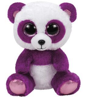Ty Beanie Boos Panda Boom Boom violett/weiß 15 cm