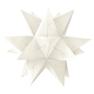 Ursus Aurelio Stern Set Faltblätter Starlight weiß (34315501) 15 x 15 cm -  veredelt mit Metallic-Effekt