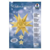 "Ursus Modena - Stern Set ""Stars"" gold 35,5 cm..."