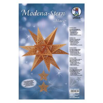 "Ursus Modena - Stern Set ""Stars"" kupfer 35,5 cm Metallic-Effekt (34680000)"