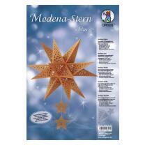 """Ursus Modena - Stern Set """"Stars"""" kupfer 35,5 cm..."""