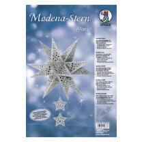 "Ursus Modena - Stern Set ""Stars"" silber 35,5 cm..."